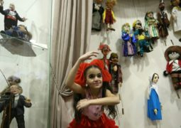 A puppet gallery opened within the framework of the World Day of Puppets in Yerevan, Armenia